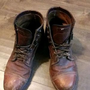 Original hand crafted Chippewa steel toe boots